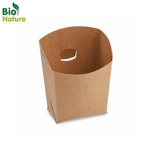 Bistro kapsa papírová nepromastitelná hnědá 50 ks