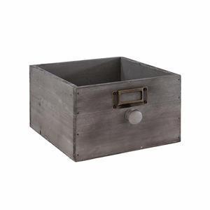 Box dřevěný šuplík Vintage