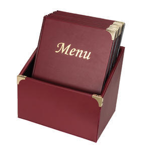 Box s jídelními lístky Basic