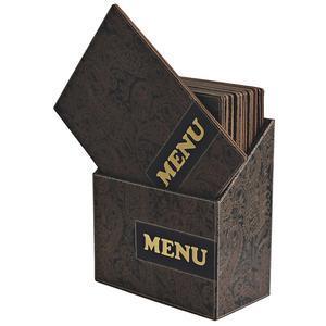 Box s jídelními lístky Design Paisley