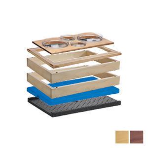 Bufetový modul 1/1 chlazený 4 misky