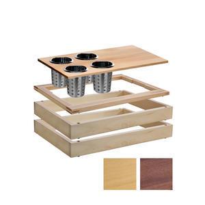 Bufetový modul 1/1 s příborovými košíky