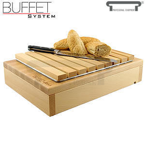 Bufetový modul 1/2 s roštem na pečivo