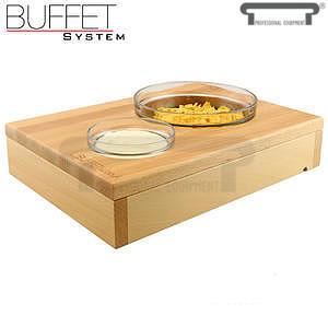 Bufetový modul 1/2 se 2 miskami