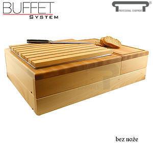 Bufetový modul 2/3 rošt a 1/3 uni deska