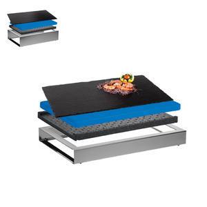 Bufetový modul ICE nerez s břidlicovou deskou
