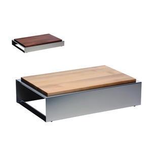 Bufetový modul nerez s deskou uni