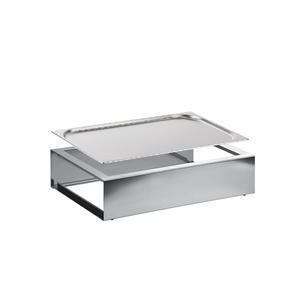 Bufetový modul nerez s GN 1/1-20 mm