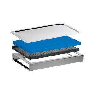 Bufetový modul pro studené pokrmy nerez