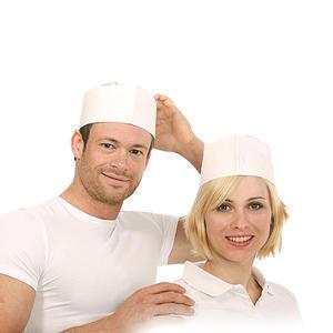 Čepice kuchařská lodička