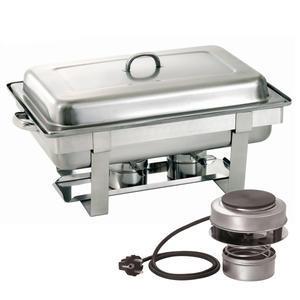Chafing dish GN 1/1-65 mm kombinovaný ohřev Bartscher