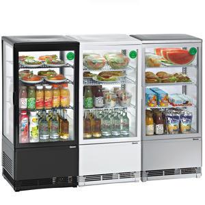 Chladicí mini vitrína 78 l Bartscher 3 varianty