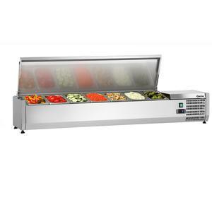 Chladicí nástavba nerez 7 x GN 1/4 Bartscher