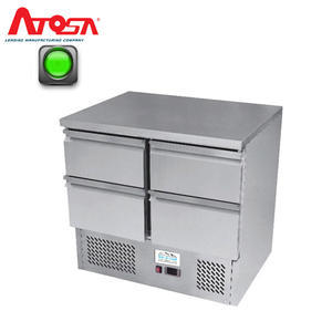 Chladicí pracovní stůl ICE3820GR na 4 zásuvky GN 1/1