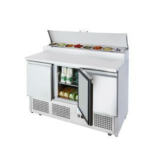 Chladicí pracovní stůl ICE3853GR pro 8x GN 1/6