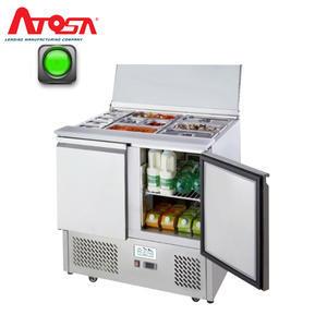 Chladicí stůl saladeta ICE3800GR 2x GN 1/1 a 3x GN 1/6