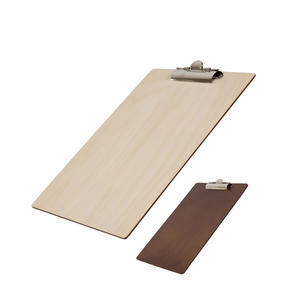 Desky s klipem dřevěné