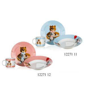 Dětská jídelní sada Medvídek
