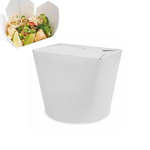 Food box papírový bílý 50 ks