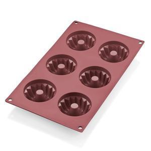 Forma Bábovičky červený silikon