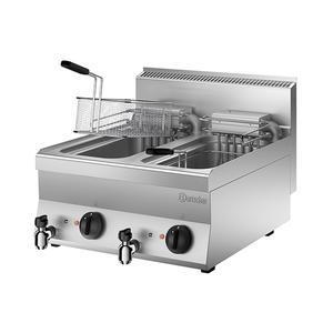 Fritéza elektrická objem 2x10 l 650 Bartscher