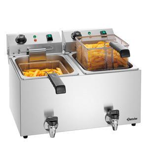 Fritéza stolní objem 2 x 9 l Bartscher SNACK IV Plus