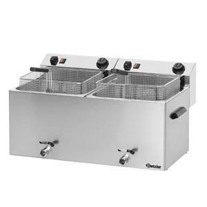Fritéza stolní objem 2x10 l Bartscher Professional II