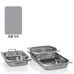 Gastronádoba GN 1/1 nerezová děrovaná s uchy