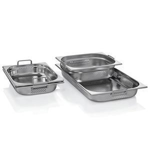 Gastronádoba GN 1/2 nerezová děrovaná s uchy