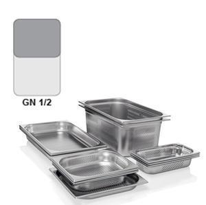 Gastronádoba GN 1/2 nerezová děrovaná