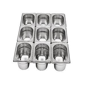 Gastronádoba GN 1/9 nerezová plná