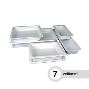 Gastronádoba porcelánová hloubka 65 mm