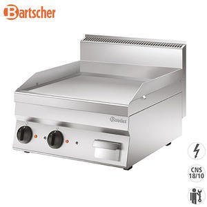 Gril elektrický 650 hladký 2Z Bartscher