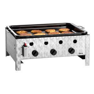 Gril stolní plynový 10 kW s pánví Bartscher
