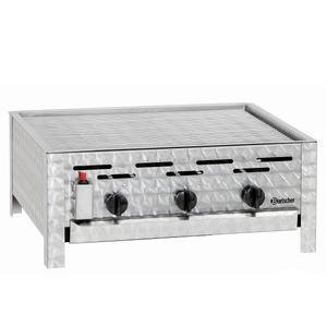 Gril stolní plynový 11 kW s roštem Bartscher