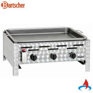 Gril stolní plynový s grilovací pánví Bartscher
