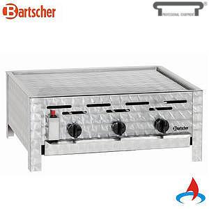 Gril stolní plynový s grilovacím roštem Bartscher