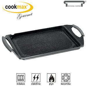 Grilovací deska Cookmax Gourmet s drážkami