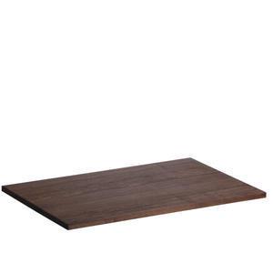 Horní nástavec dřevěná deska univerzální tmavá
