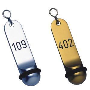 Hotelové klíčenky Klassik dlouhé