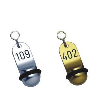 Hotelové klíčenky Klassik krátké