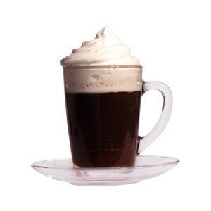 Hrnek skleněný na Cappuccino