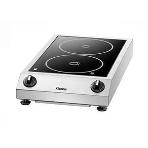 Indukční vařič dvojitý ITH 35ZS-210 Bartscher