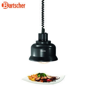 Infra lampa gastro IWL250D SW Bartscher