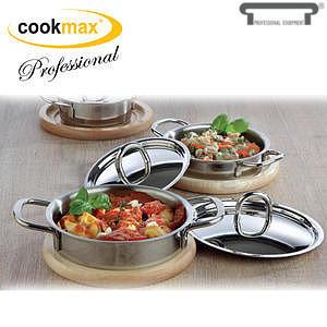 Kastrol servírovací mini Cookmax Professional