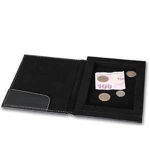 Krabička na účty, peníze a mince