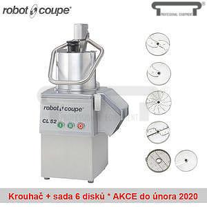 Krouhač zeleniny Robot Coupe CL52 včetně 6 disků
