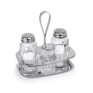 Menážka série 1480 sůl a pepř s párátky