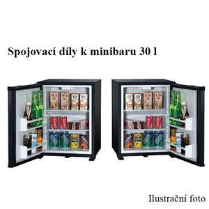 Minibar 30 l - spojovací díly