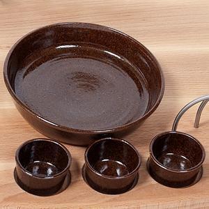 Misky keramické pro servírovací prkna